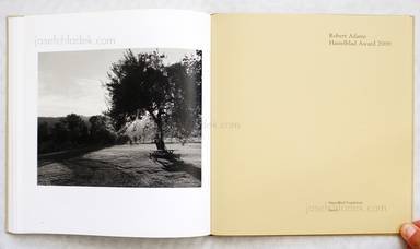 Sample page 7 for book  Robert Adams – Tree Line
