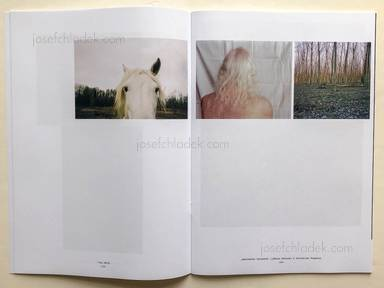 Sample page 2 for book  Maria & Harald Wawrzyniak (Eds.) Lichtenegger – rûm magazine Issue°IV