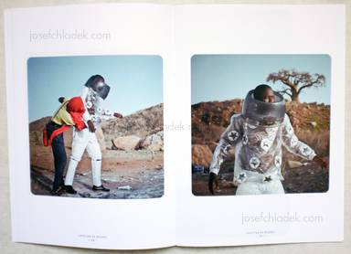 Sample page 6 for book  Cristina de Middel – Afronauts