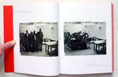 Sample page 2 for book  Christopher Williams – Printed in Germany