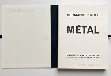 Sample page 1 for book  Germaine Krull – Métal