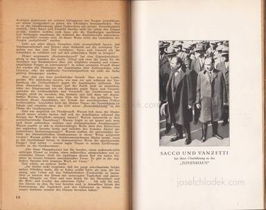 Sample page 1 for book internationalen Roten Hilfe Exekutivkomitee – Sacco und Vanzetti