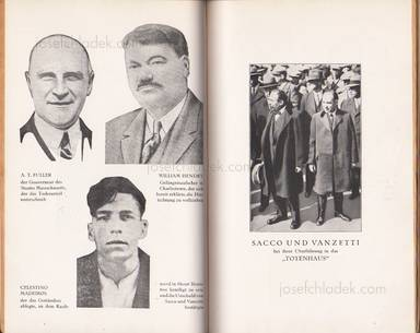 Sample page 2 for book internationalen Roten Hilfe Exekutivkomitee – Sacco und Vanzetti