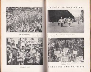 Sample page 3 for book internationalen Roten Hilfe Exekutivkomitee – Sacco und Vanzetti